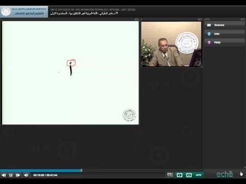 تعلم اللغة العربية لغيير الناطقين بها محاضرة 1 Arabic Language