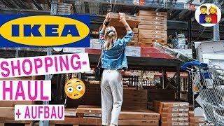MEGA IKEA HAUL + Aufbau inkl. VOHRER - NACHHER   Mama + Louis shoppen! Papa baut auf!    VLOG
