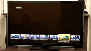 PC_TV - How To Setup Wireless Internet on your Smart TV(Nizar and Jared show you how to setup a wireless internet connection to your smart TV. They go through setting up passwords, common features and usability., 2013-03-28T02:19:51.000Z)
