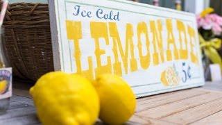 Vintage Lemonade Party Via Little Wish Parties Childrens Party Blog