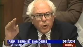 Bernie Sanders Grills Alan Greenspan: Sanders Predicts Wall Street Collapse (10/1/1998)