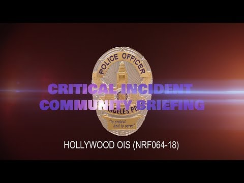 Critical Incident Video Release - NRF064-18 HWD OIS