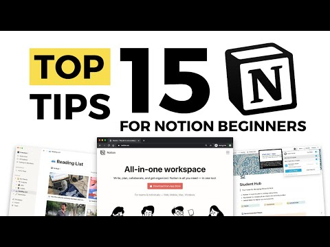 Top 15 Notion Tips for Beginners