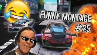 Скачать FUNNY ASPHALT 8 MONTAGE 25 Funny Moments And Stunts