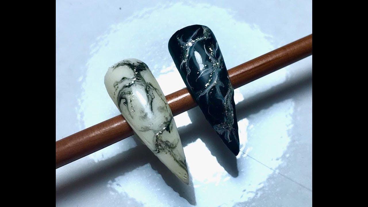 Cum Sa Faci Efectul De Marmura Perfect Easy Marble Mail Efect 2019
