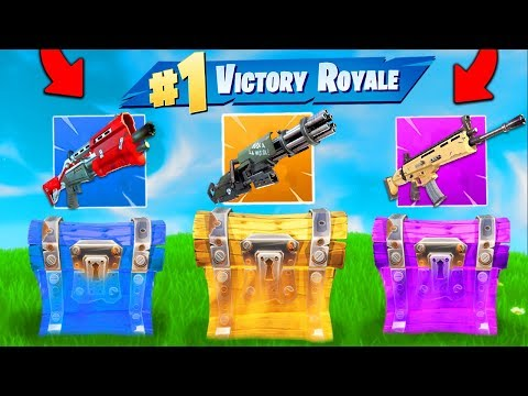 The *RANDOM CHEST* Challenge In Fortnite Battle Royale!