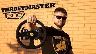 Лучший народный руль! Обзор Thrustmaster T300 Ferrari Integral Racing Wheel Alcantara Edition