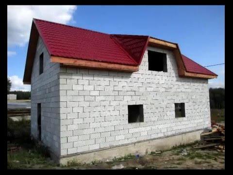 Строительство гаража с жилой мансардой