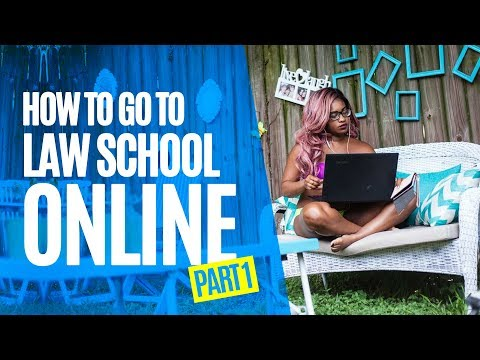 How to go to Law School Online