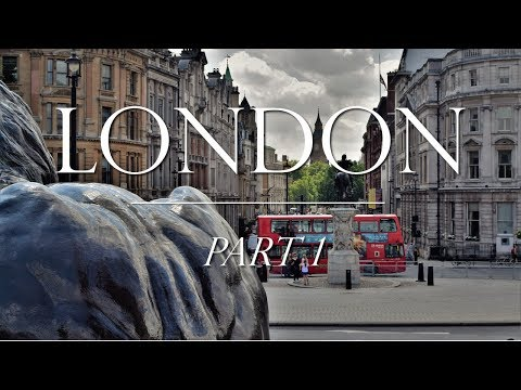 London Part 1: Westminster, Bus Tour, Trafalgar, London Eye