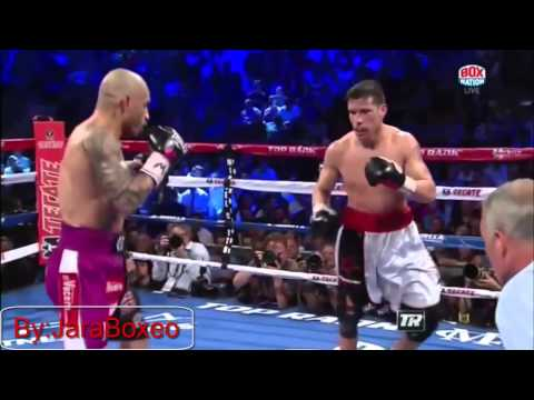 Miguel Cotto vs Sergio Martinez Best Highlights