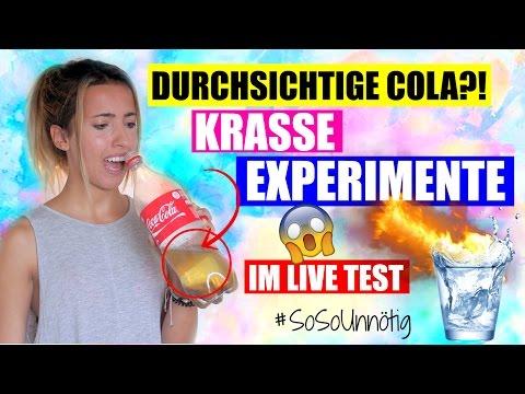 DIY HACK DURCHSICHTIGE COLA TESTEN |Damit überraschst du JEDEN! |#SoSoUnnötig