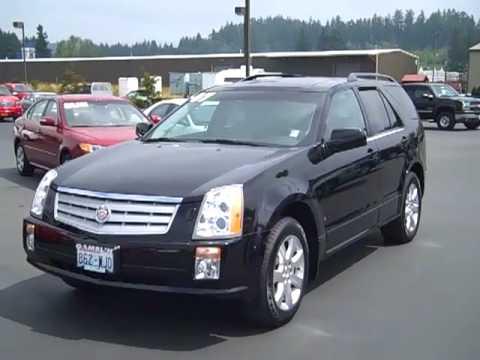 2007 Cadillac Srx Awd Black Enumclaw Seattle Puyallup