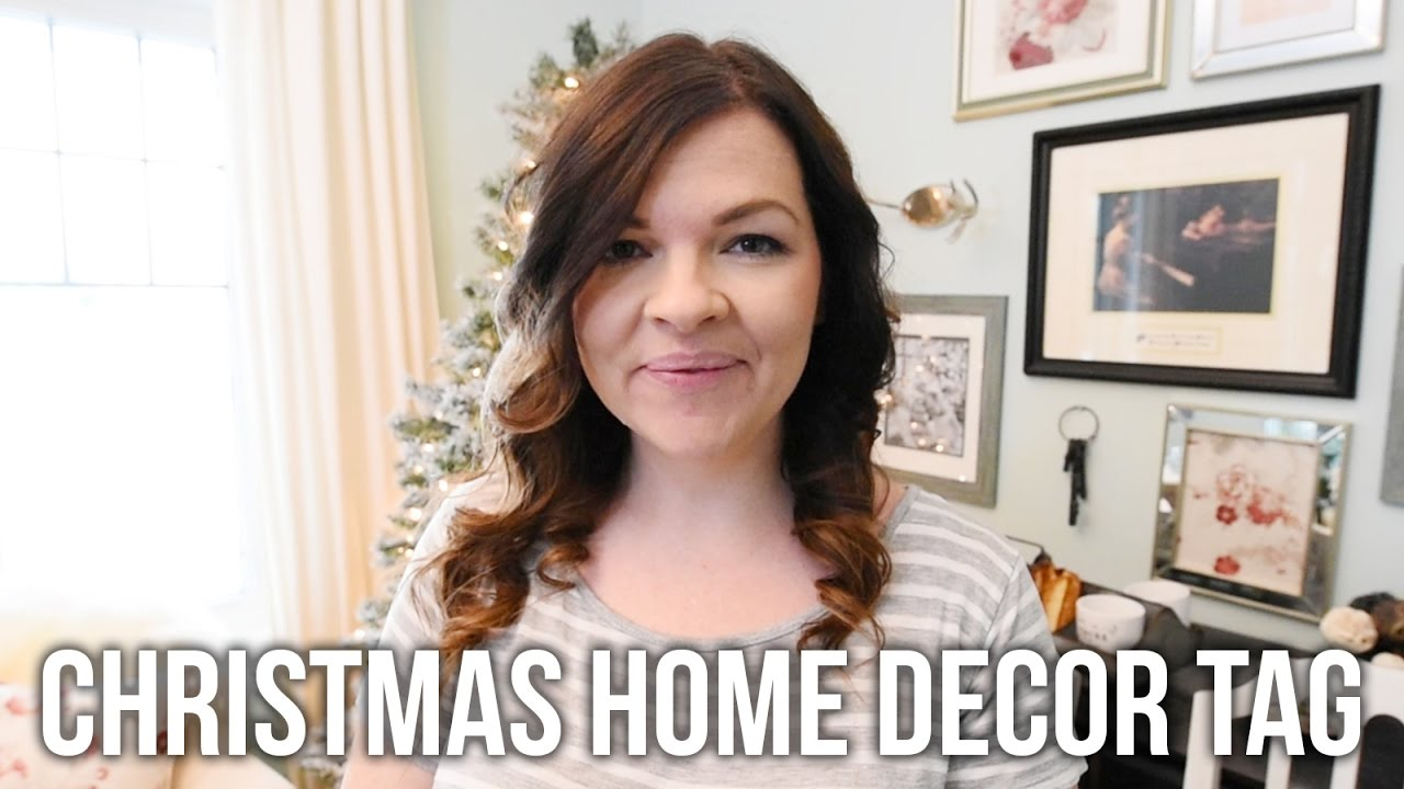 the christmas home decor tag christmas 2016 youtube