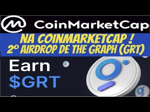 【Airdrop Coinmarketcap】Como ganhar GRT tokens direto BINANCE | 2Round | Finaliza 14/07 | Renda Extra