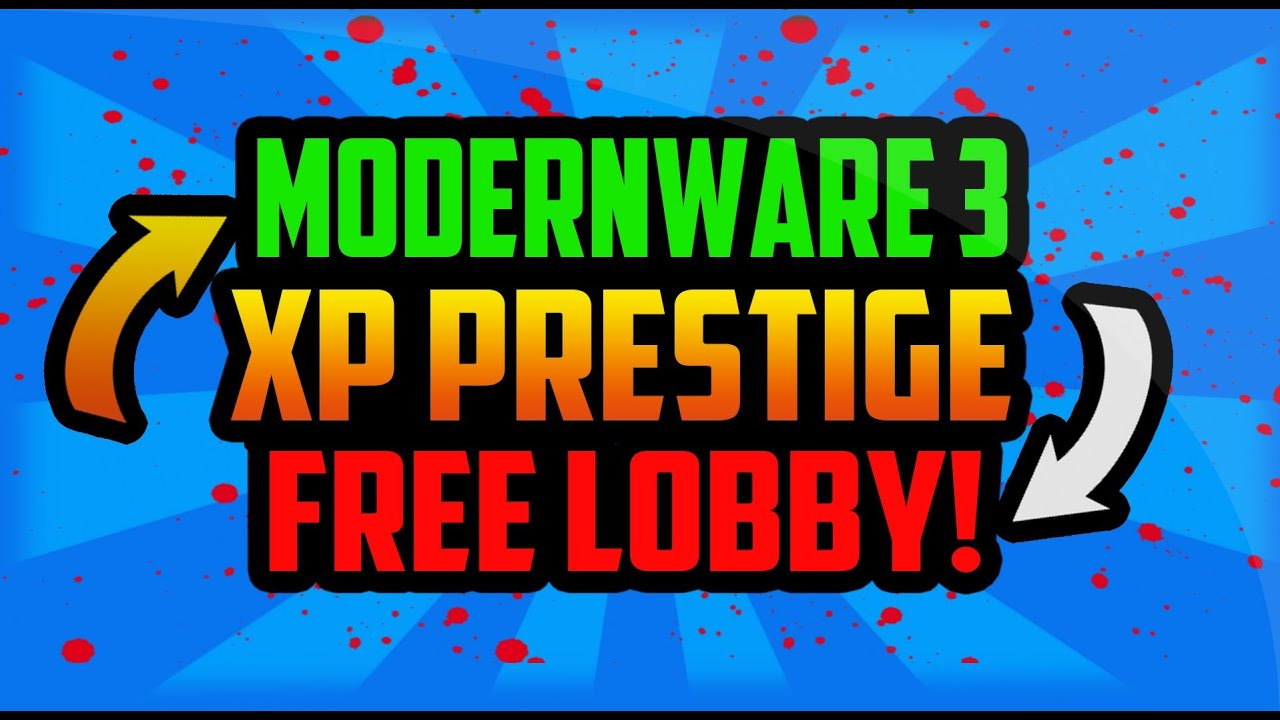 mw3 xp lobbies xbox 360
