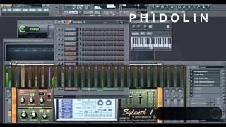 Fl Studio Remake : Afrojack & Wrabel - Never Break Your Heart  [Phidolin Remake] + FLP
