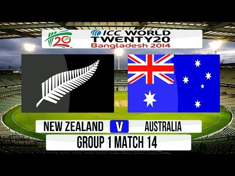 (Cricket Game) ICC T20 World Cup 2014 Super 8 - New Zealand v Australia Group 1 Match 14