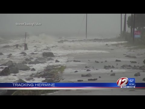 Tropical Storm Hermine Makes Landfall