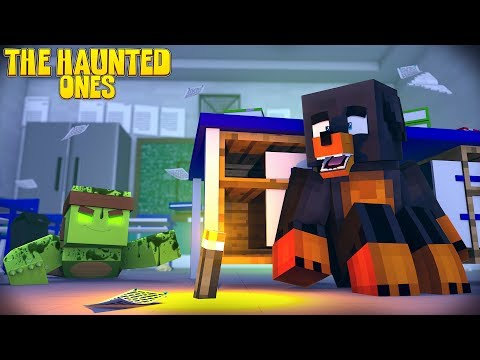 Minecraft THE HAUNTED ONES - TINY TURTLE IS NEXT AND HE IS LOOKING FOR HIS NEXT VICTIM!!