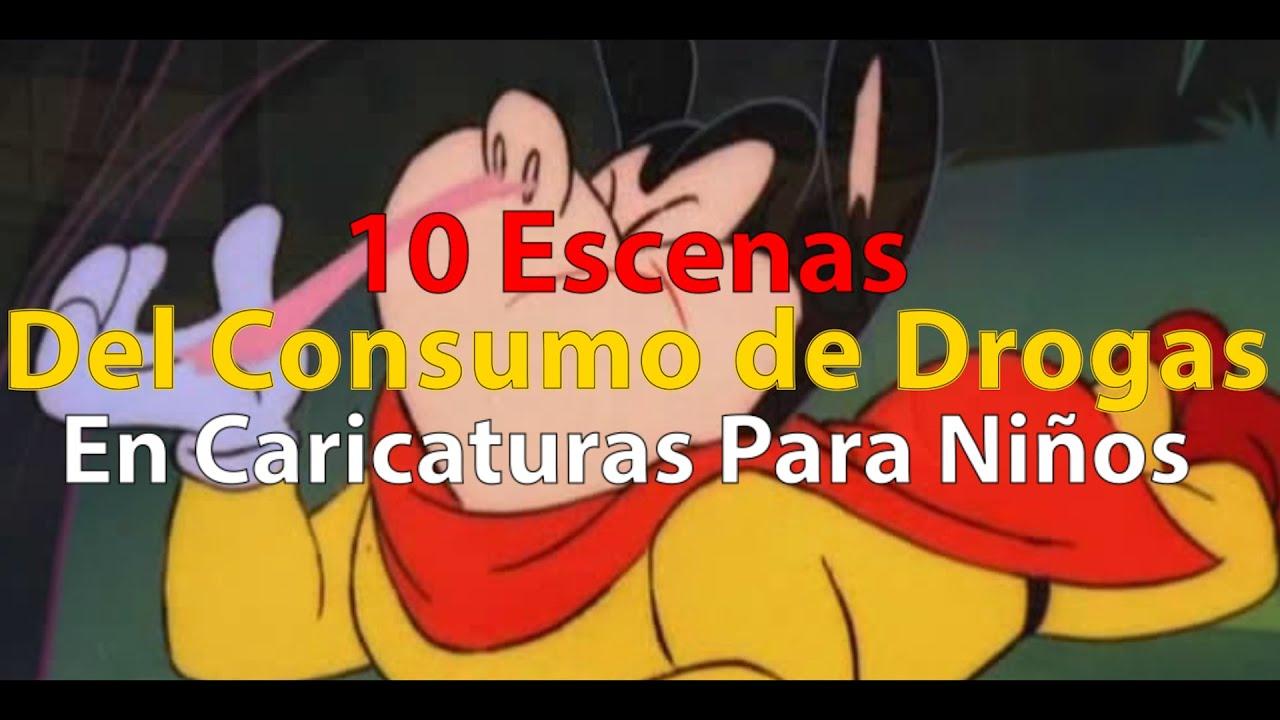 10 Escenas De Drogas En Caricaturas Para Niños