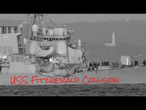 USS Fitzgerald Collison (NPO Off Japan)