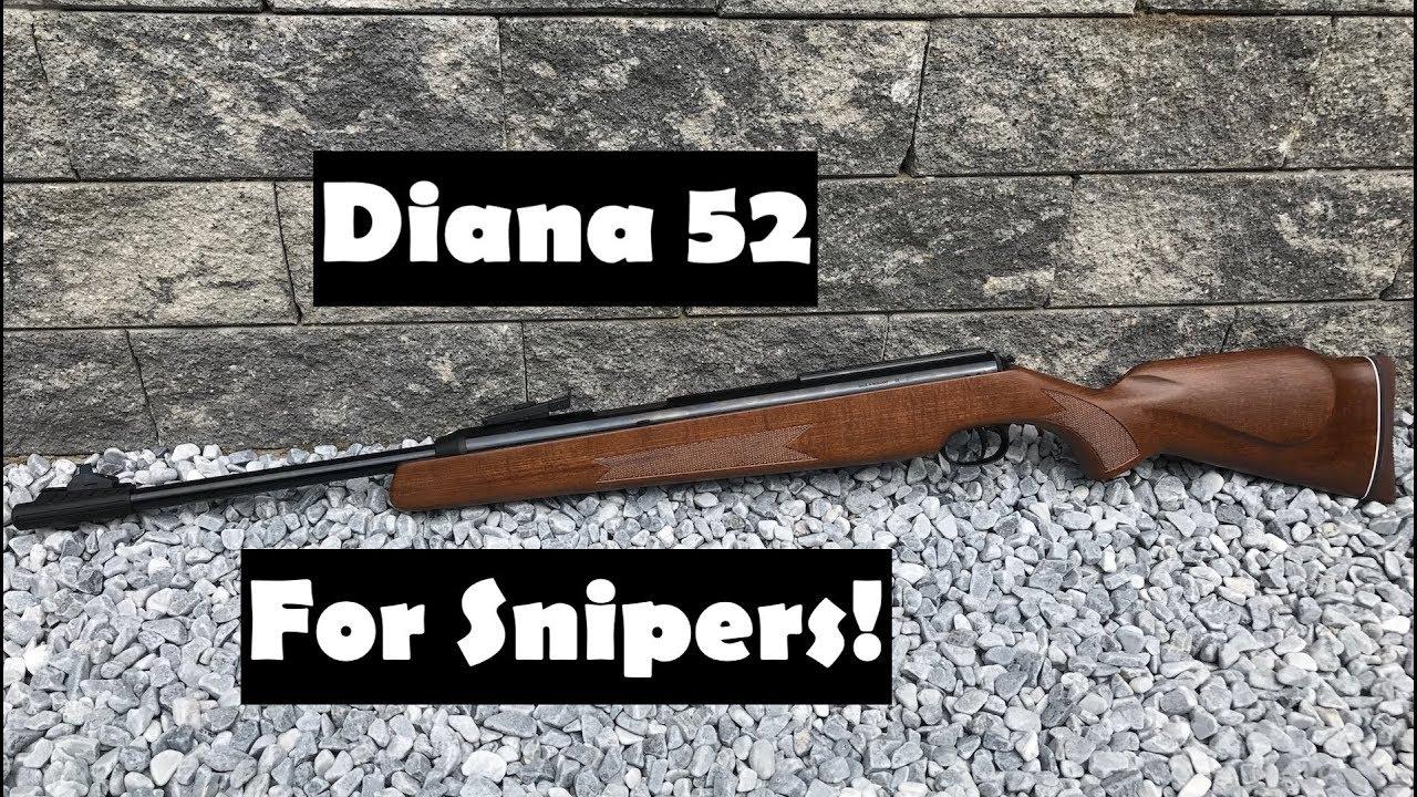 Diana model 52 vs diana airking review airguns reviews gunmart - Diana 52 Review And Shooting Test