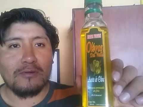 El aceite acne oliva contra de