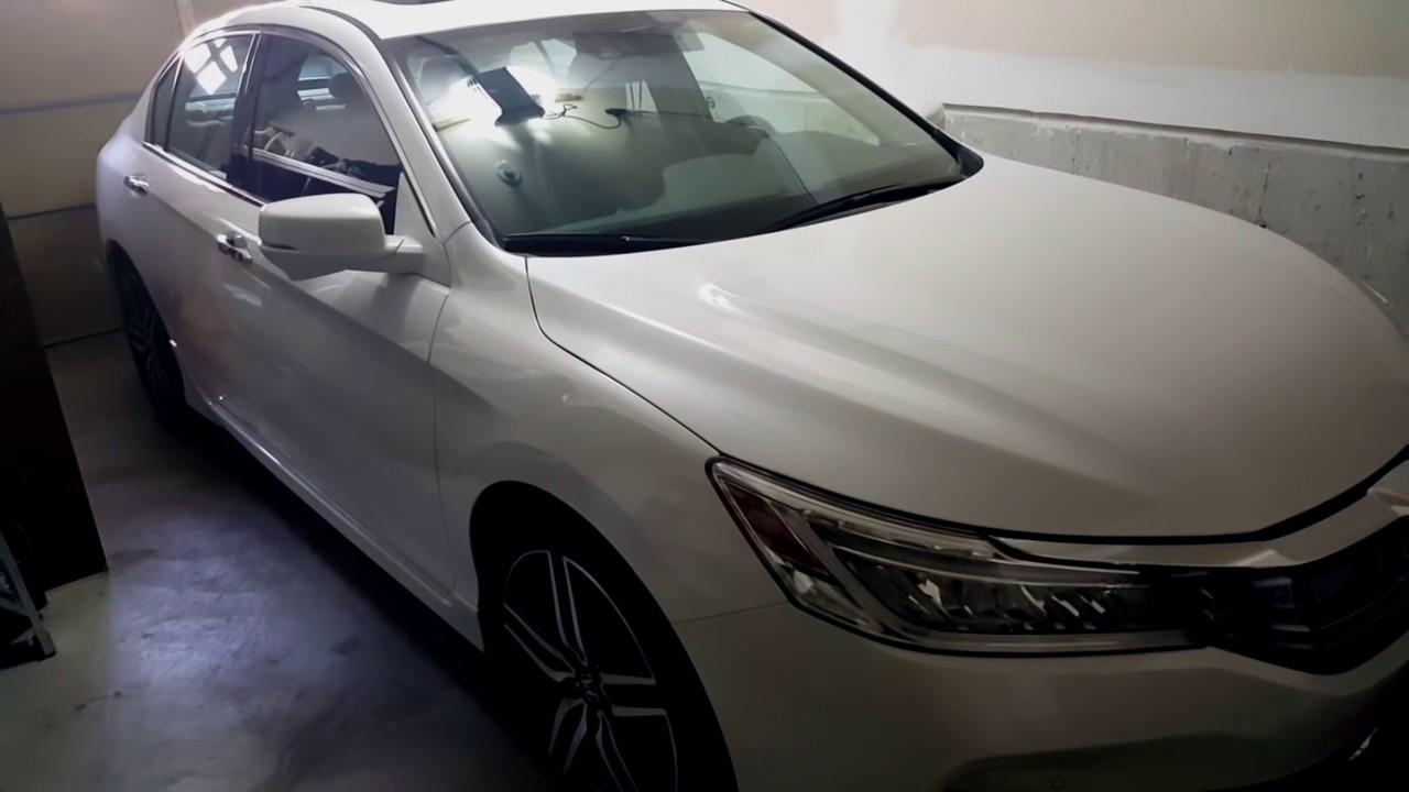 2016 honda accord v6 touring sedan full car review youtube. Black Bedroom Furniture Sets. Home Design Ideas