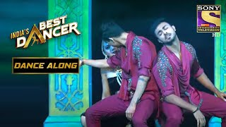 Adnan ने दिया एक Sensual Performance | India's Best Dancer | Dance Along