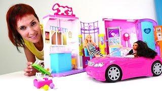 Барби и Маша открывают ветеринарную клинику - Видео для девочек