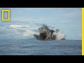 """Robot vs. Volcano: """"Sometimes It's Just Fun to Blow Stuff Up"""" (Exclusive) 