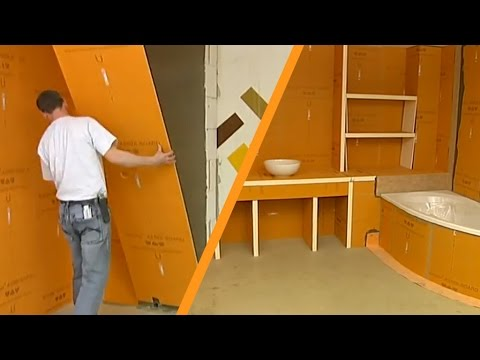 schl ter kerdi board installation youtube. Black Bedroom Furniture Sets. Home Design Ideas