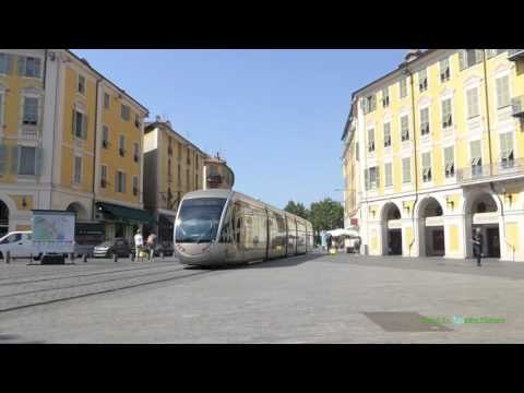 Tramway de Nice, France 2016 - 1080p.