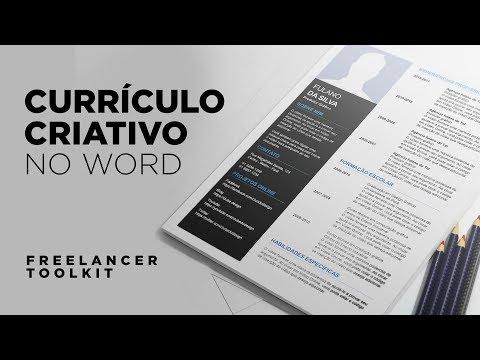 Currículo para freelancer 2021 - Modelos para imprimir 2