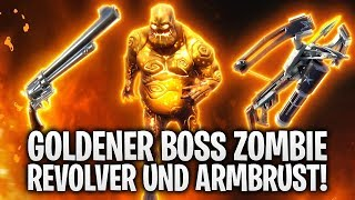 UPDATE! GOLDENER ZOMBIE BOSS, REVOLVER UND ARMBRUST! 🔥 | Fortnite: Battle Royale