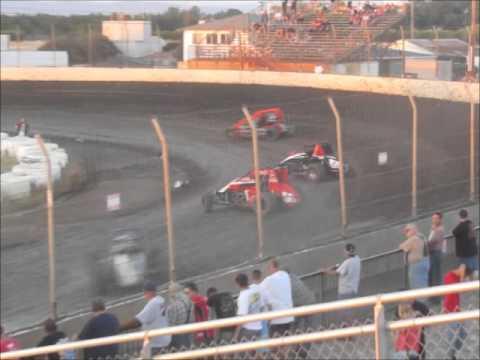Sprintcars (Wingless)  @ Marysville Raceway Park  5-18-13