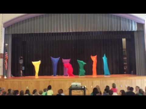 Teacher Dance #4 - Color Blobs