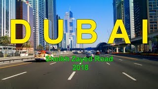 DUBAI Sheikh Zayed Road 2018
