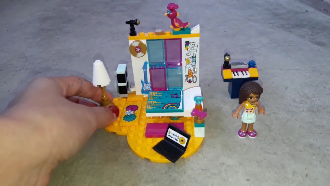 Lego Friends Andreas Zimmer Youtube