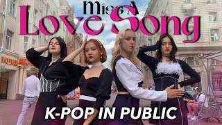 [KPOP IN PUBLIC | ONE TAKE] MISS A (미쓰에이) - LOVE SONG | Danc…