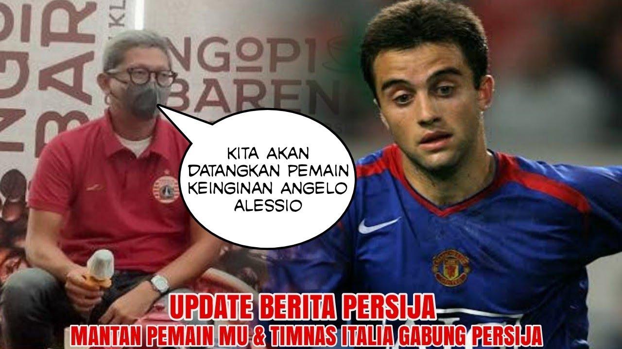 BREAKING NEWS 🔥 Guiseppe Rossi Merapat Ke Persija, Ini Kata Manajemen Persija
