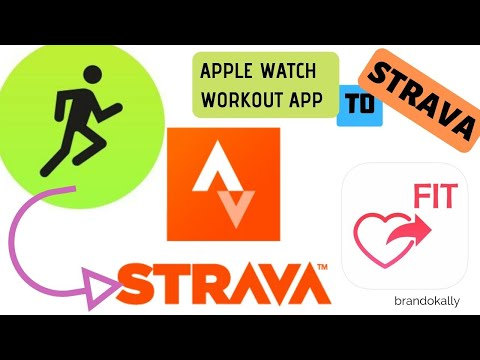 Sync Apple Watch Workout App To Strava