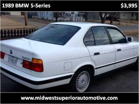 1989 bmw 5 series used cars bozarth 39 s best buy used cars kan youtube. Black Bedroom Furniture Sets. Home Design Ideas