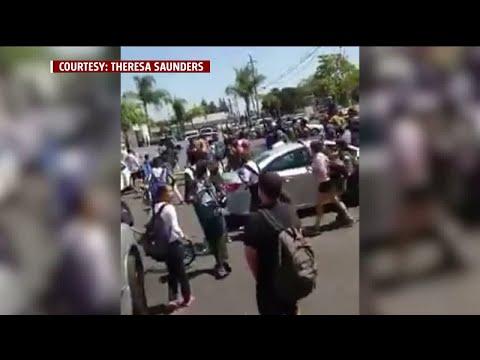 Shay Diddy - Shocking: Massive Brawl Erupts Near A Stockton High School