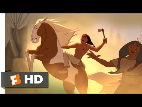 Spirit (2002) - Attack On The Lakota Scene (6/10) | Movieclips