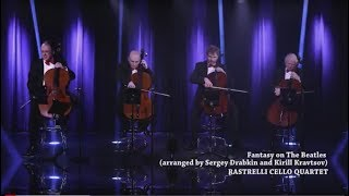 Rastrelli Cello Quartet - The Beatles - I saw her standing there - LIVE