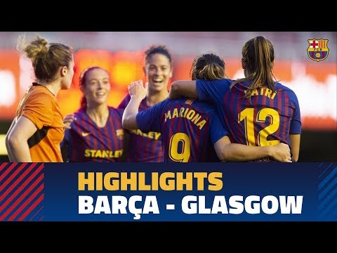 [HIGHLIGHTS] WCL: FC Barcelona – Glasgow City (5-0)