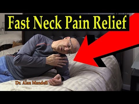 60 Second Neck & Roll Stretch for Fast Relief of Neck Pain & Pinched Nerve - Dr. Mandell, D.C.