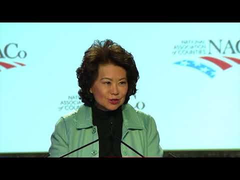 Secretary Elaine L. Chao Addresses Nation's Counties